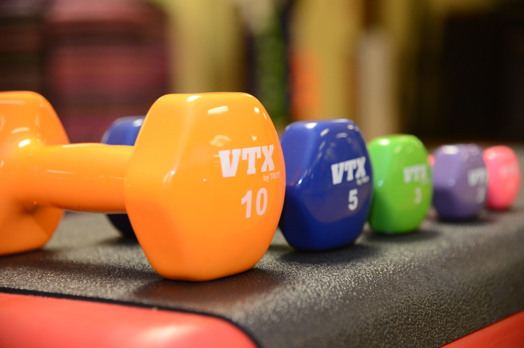 Strength-training-and-dumbbells